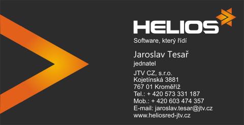 HELIOS Red JTV CZ Tesar vizitka